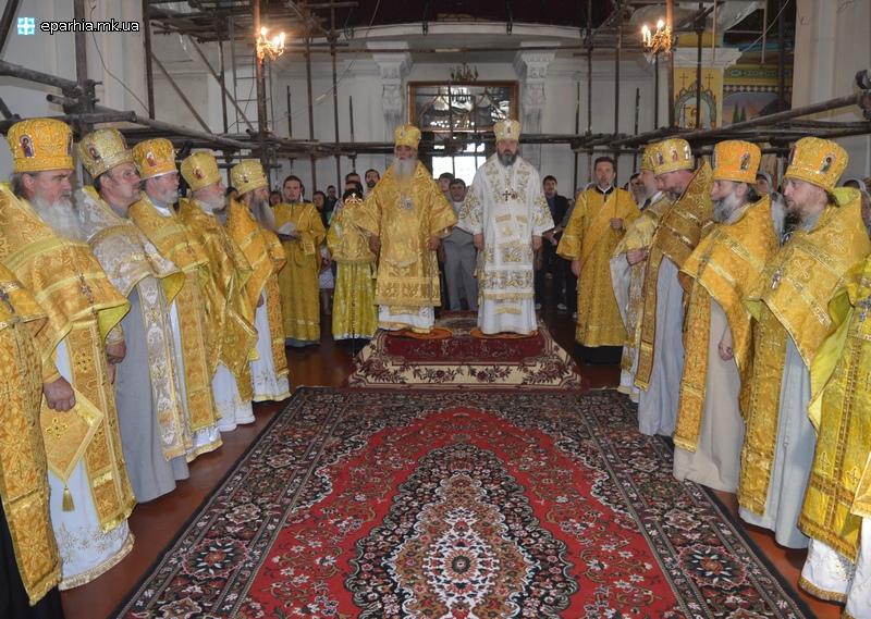 Архиепископ Иоанн поздравил митрополита Питирима с Днем Ангела